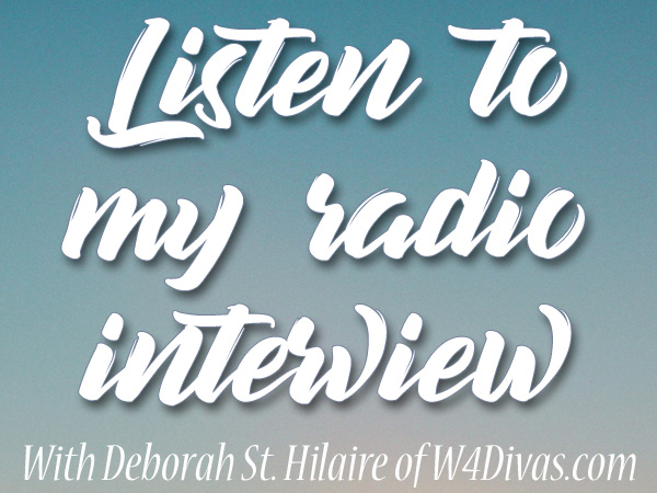 Listen to my radio interview