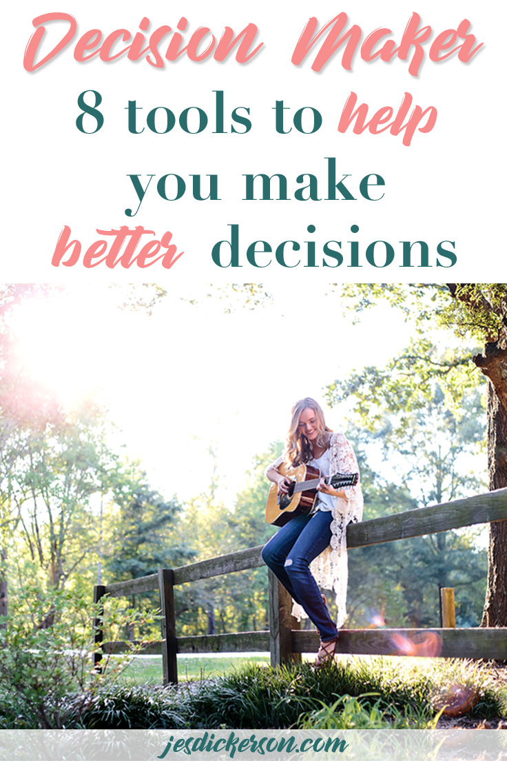 Decision Maker: How to make better decisions and change your life
