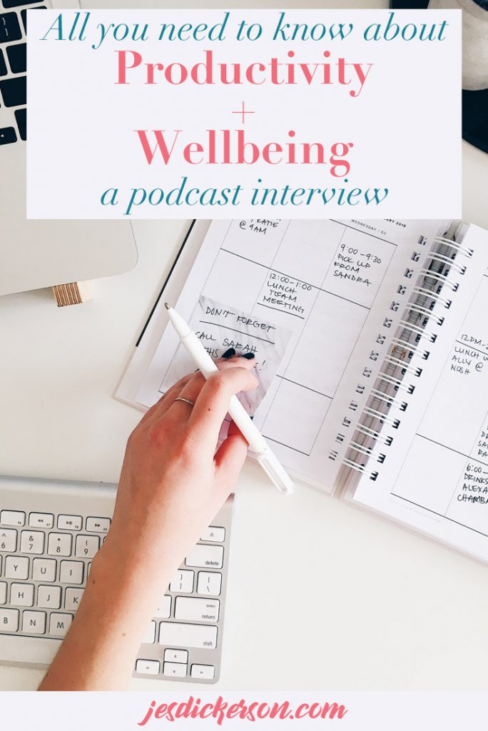 Productivity and Wellness: Brand Fabulous Podcast Interview Feature