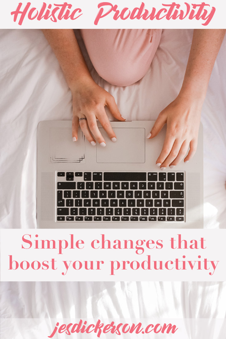 Holistic Productivity: How taking a whole life view helps you get more done