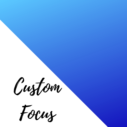 Custom Focus Coaching Package