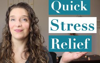 How to Reduce Your Stress Quickly