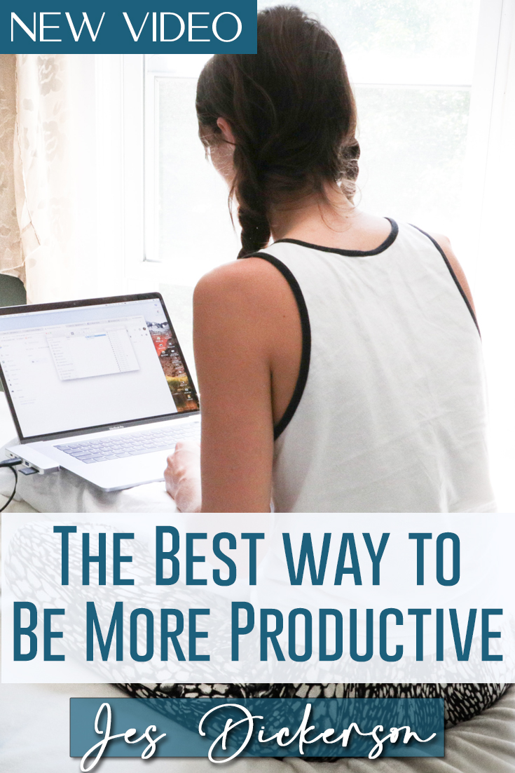 The Best Way to Be More Productive