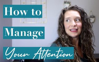 Pay Attention! How to control your attention and focus